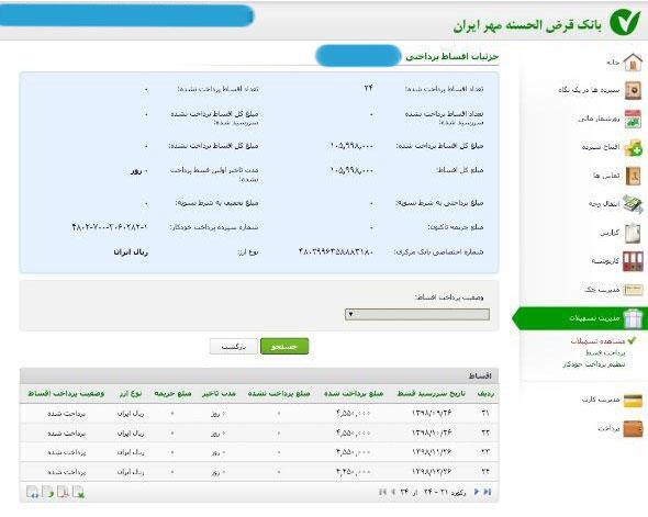 تخلف بانک مهر ایران